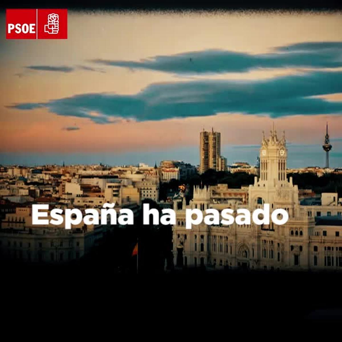 Vídeo de presentación del congreso del PSOE.