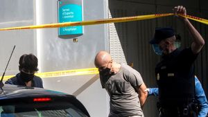 La Policia Nacional detuvo por primera vez al director del Consell Esportiu de L Hospitalet, Eduard Gali, en junio del año pasado   EFE  Quique Garcia