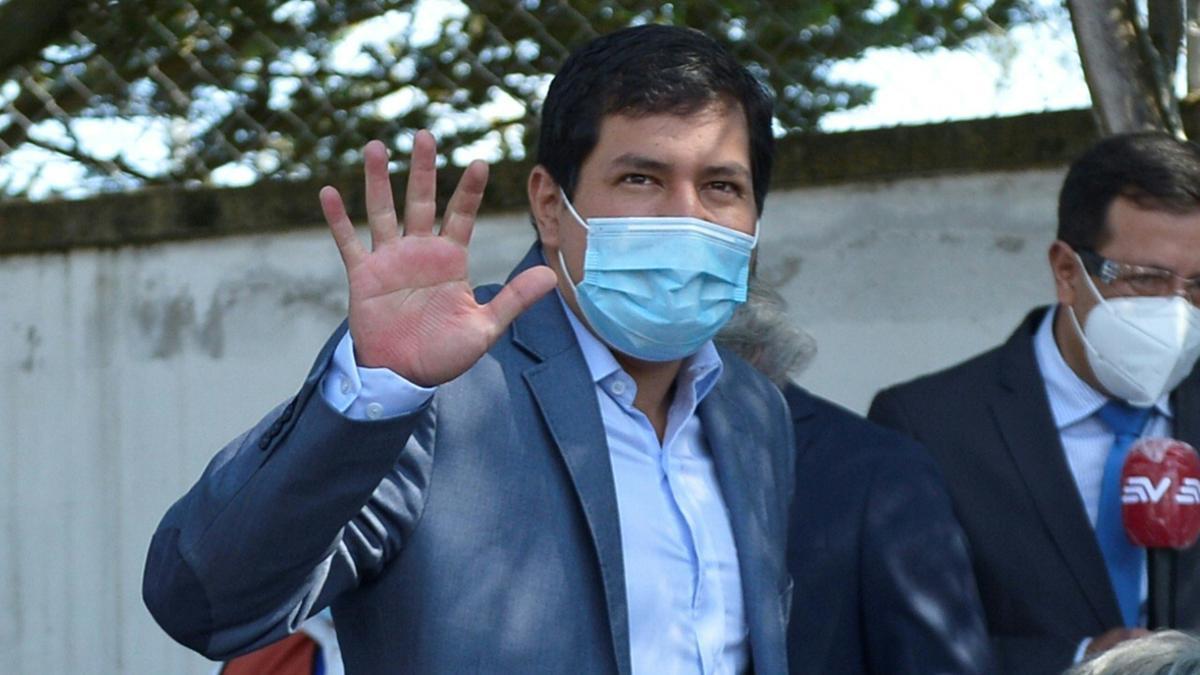 Andrés Arauz, candidato a la presidencia de Ecuador