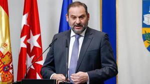 El ministro de Transportes y secretario de Organización del PSOE, José Luis Ábalos.