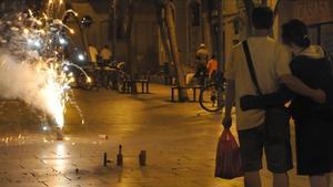 Un niño pierde la mano al explotarle un petardo en Jaén