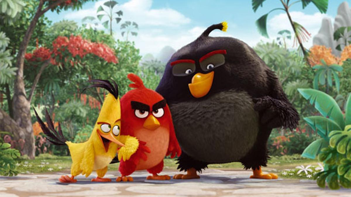 Tráiler de 'Angry Birds, la película'. (2016)