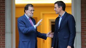 PSOE i C's s'alineen amb Rajoy en un front comú contra l'1-O