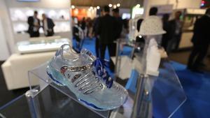 Zapatillas creadas a partir de impresión 3D.