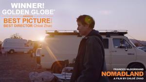 'Nomadland', millor pel·lícula als Globus d'Or