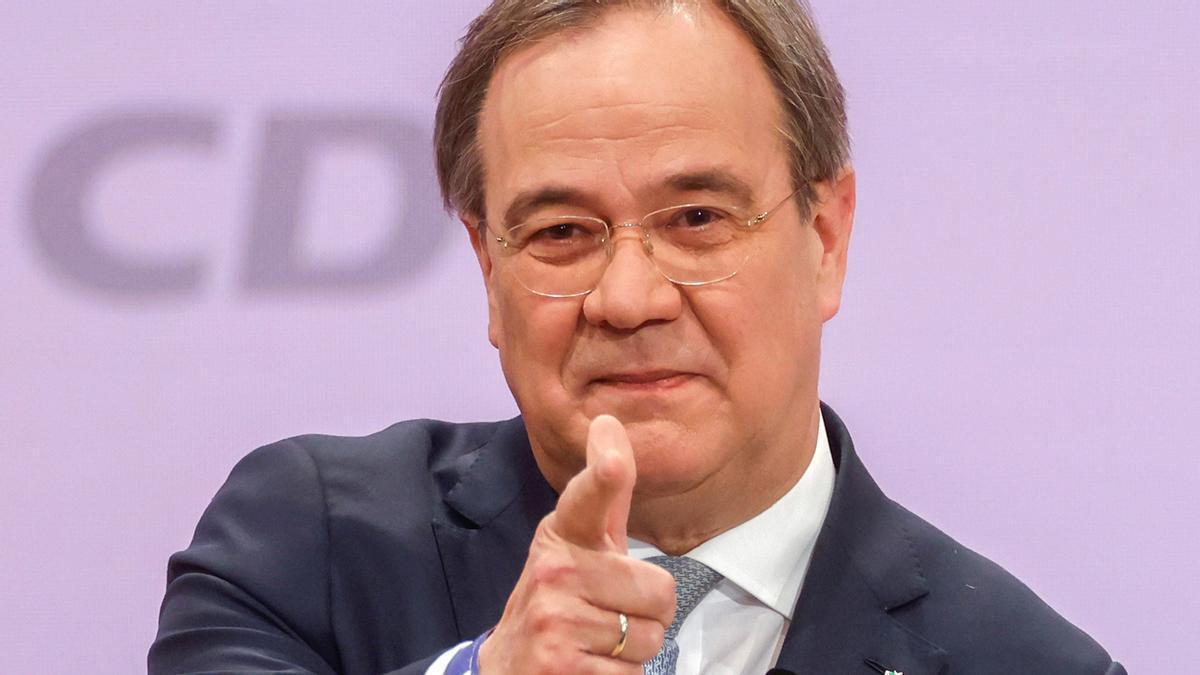 Armin Laschet, nuevo presidente de la CDU.