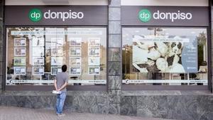 Una oficina de Don Piso de Barcelona.