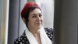 La escritora Elia Barceló, en Madrid, en una imagen de archivo.