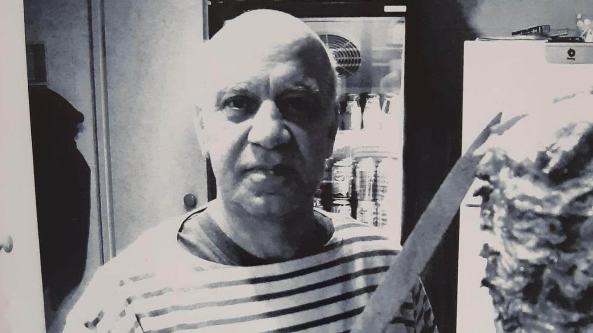 Salem, el propietario del restaurante El Cuiner de Damasc.