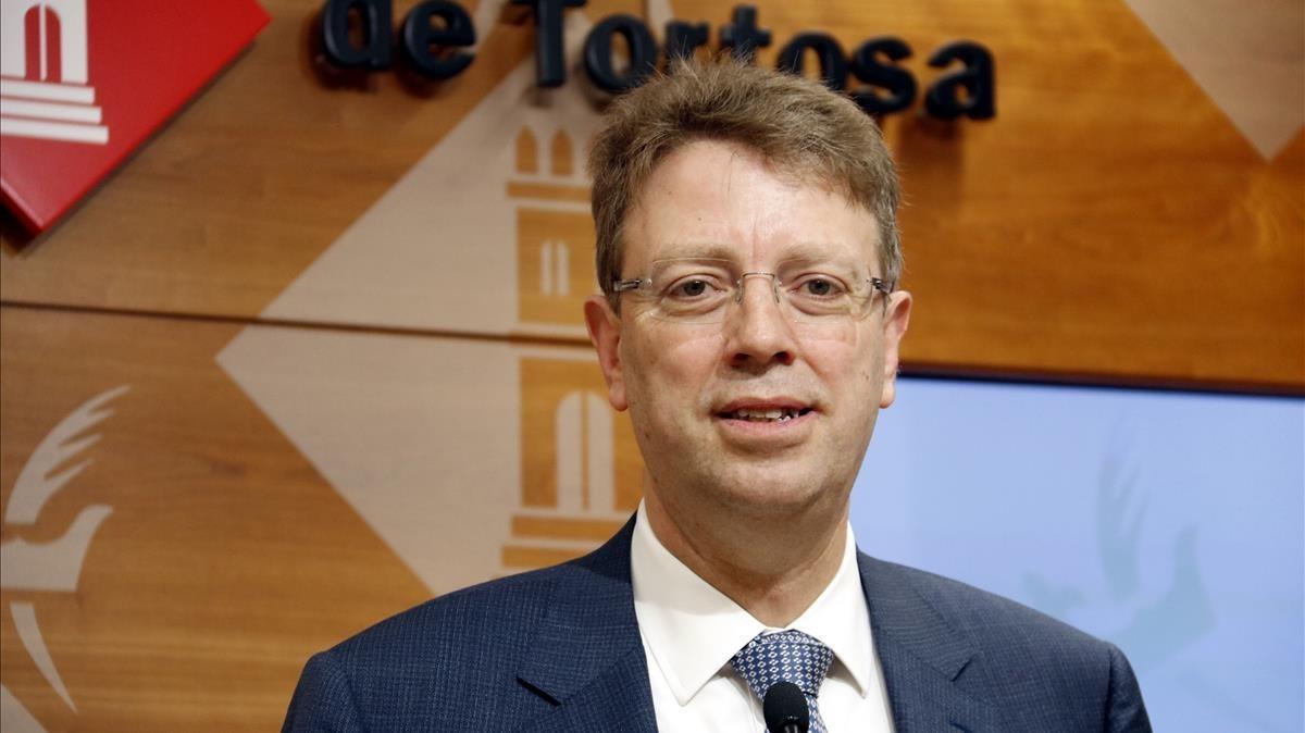 Ferran Bel, alcalde de Tortosa.