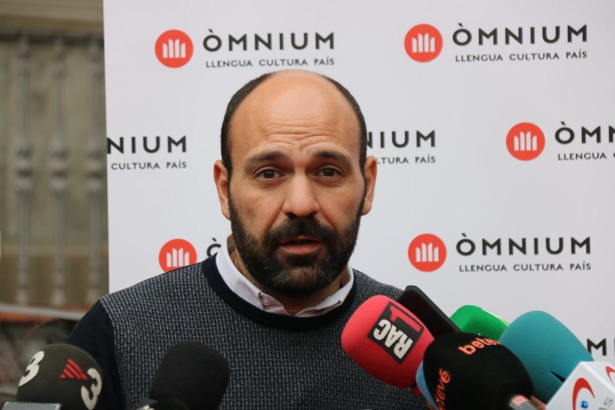 El vicepresidente de Òmnium, Marcel Mauri.
