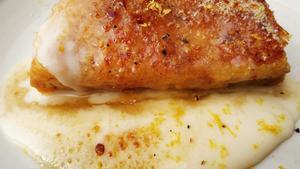 Torrija especiada: foto hecha en la cocina de casa.