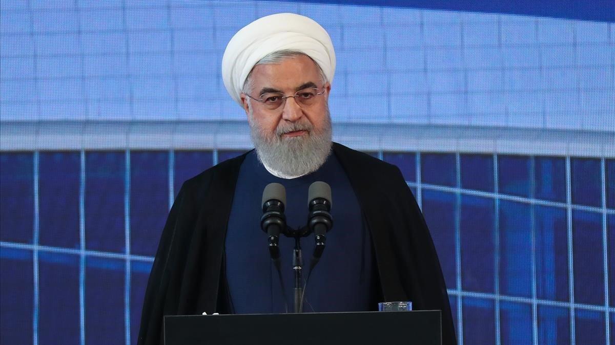 El presidente iraní, Hasán Rohani.