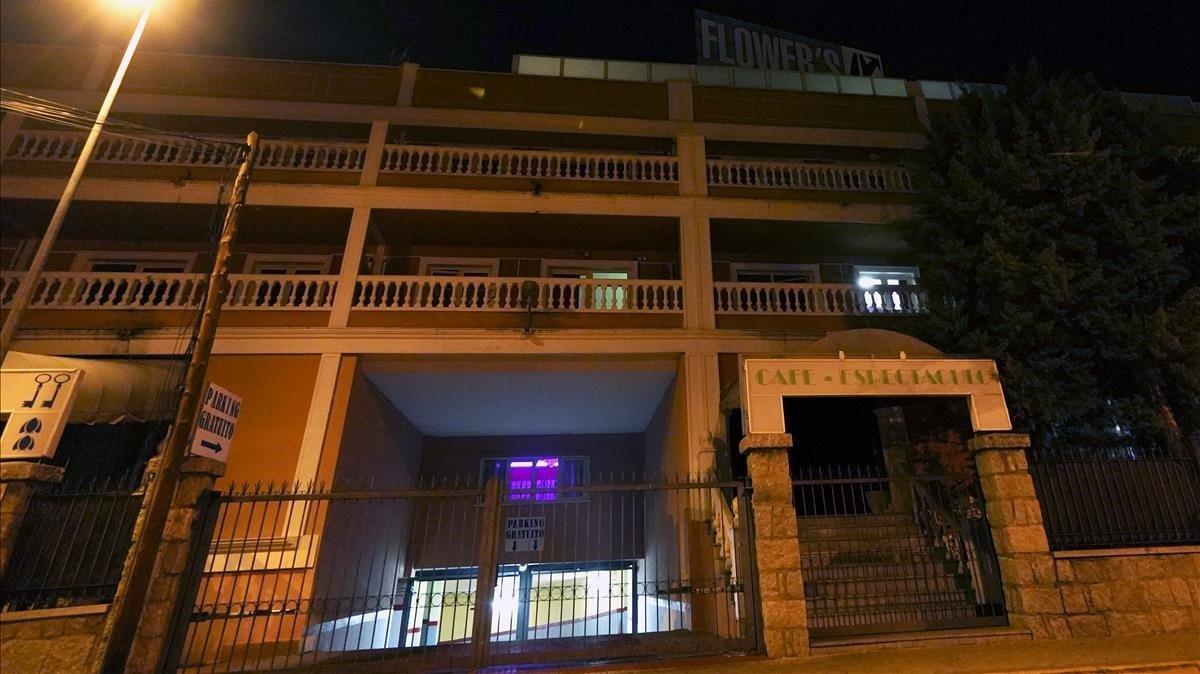 Imagen del club Flowers, en Madrid, tomada la semana pasada.