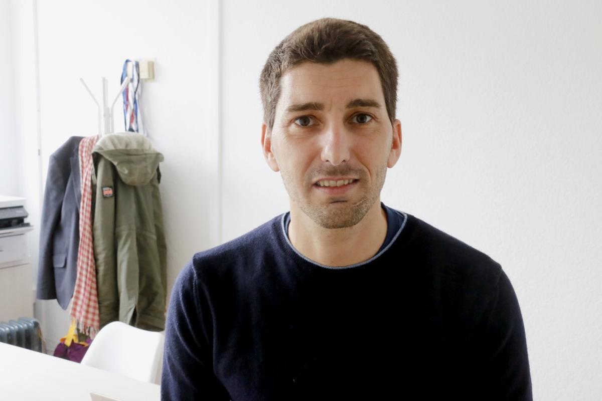 El epidemiólogo Oriol Mitjà, el pasado febrero.