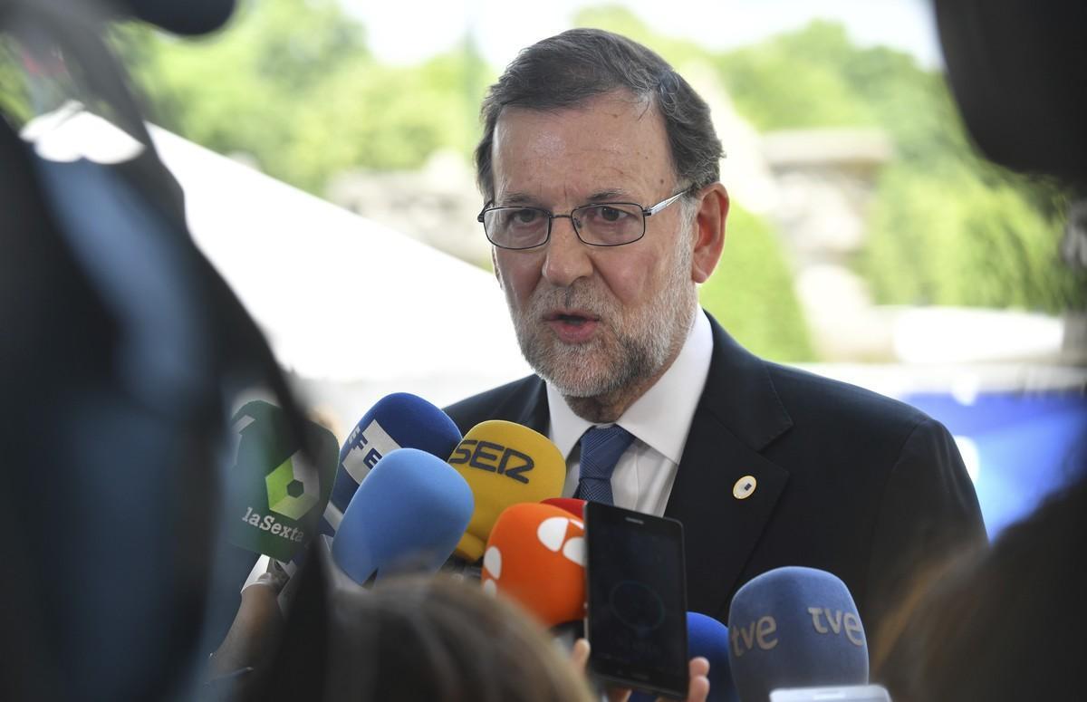 Mariano Rajoy, en Bruselas.