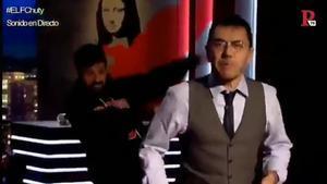 El rap de Monedero para su programa 'En la frontera'.