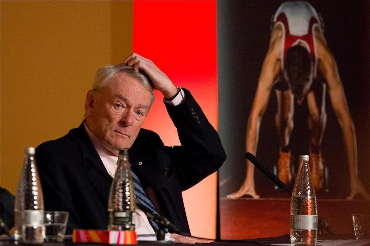 El miembro del COI Dick Pound, en una imagen de archivo