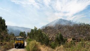 Els bombers aconsegueixen estabilitzar l'incendi de Huelva després de quatre dies sense control