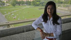 La abogada Maribel Martínez, coordinadora del Servicio de Atención Jurídica a las Mujeres (SAM) del Colegio de Abogados de Pamplona.