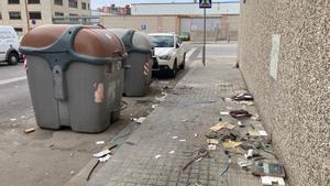 Incivisme i neteja insuficient al polígon Via Trajana