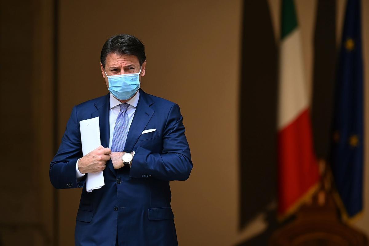 Giuseppe Conte, el pasado mes de octubre.