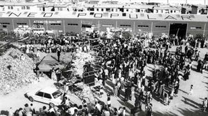 Ocupación vecinaldel Ateneu Popular de Nou Barris, en 1977.