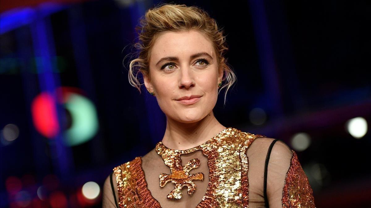 Greta Gerwig, fotografiada en la Berlinale el pasado jueves 15 de febrero