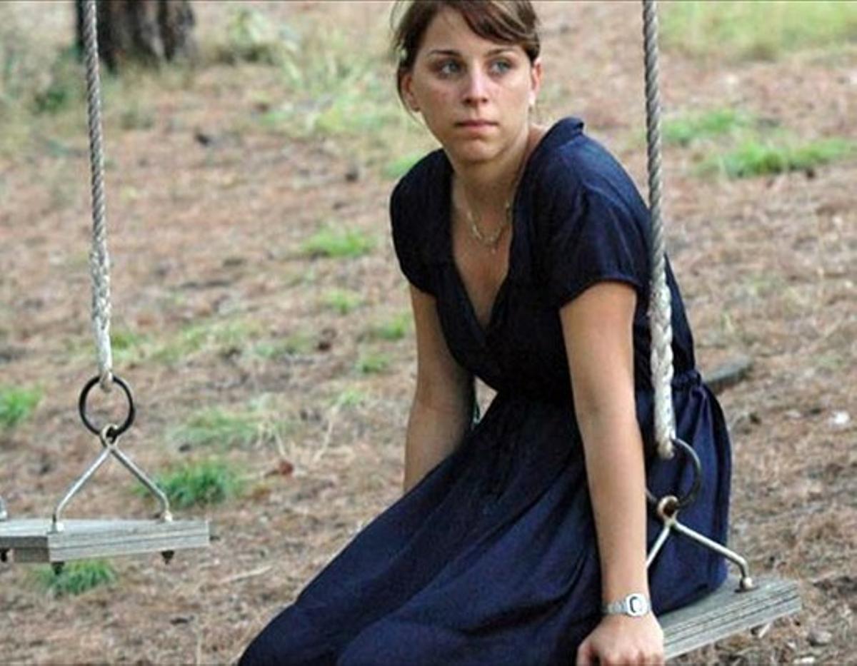 La actriz Nausicaa Bonín protagoniza el filme de Mar Coll, 'Tres días con la familia'.