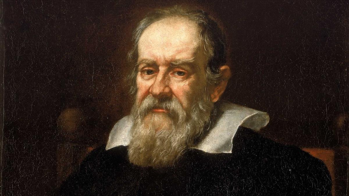 Retrato de Galileo Galilei deGiusto Sustermans