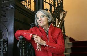 La escritora Donna Leon, durante una visita a Madrid en el 2008.