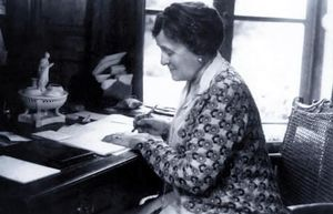 Edith Wharton.
