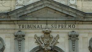 Fachada del Tribunal Supremo.