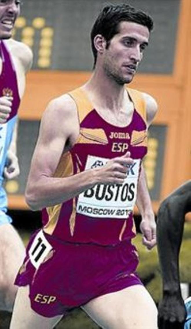 David Bustos, líder del 1.500.