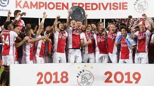 El Ajax de Amsterdam podría proclamarse campeón de Holanda sin volver a jugar.