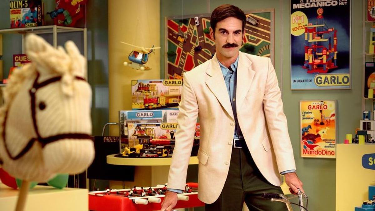 Jon Plazaola, como el empresario Raúl García Corcuera, en la 10ª temporada de 'Amar es para siempre'.