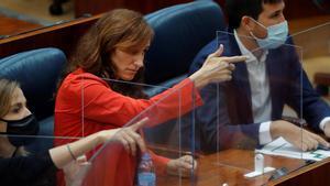 Polèmica pels gestos d'una diputada de Més Madrid a Lasquetty