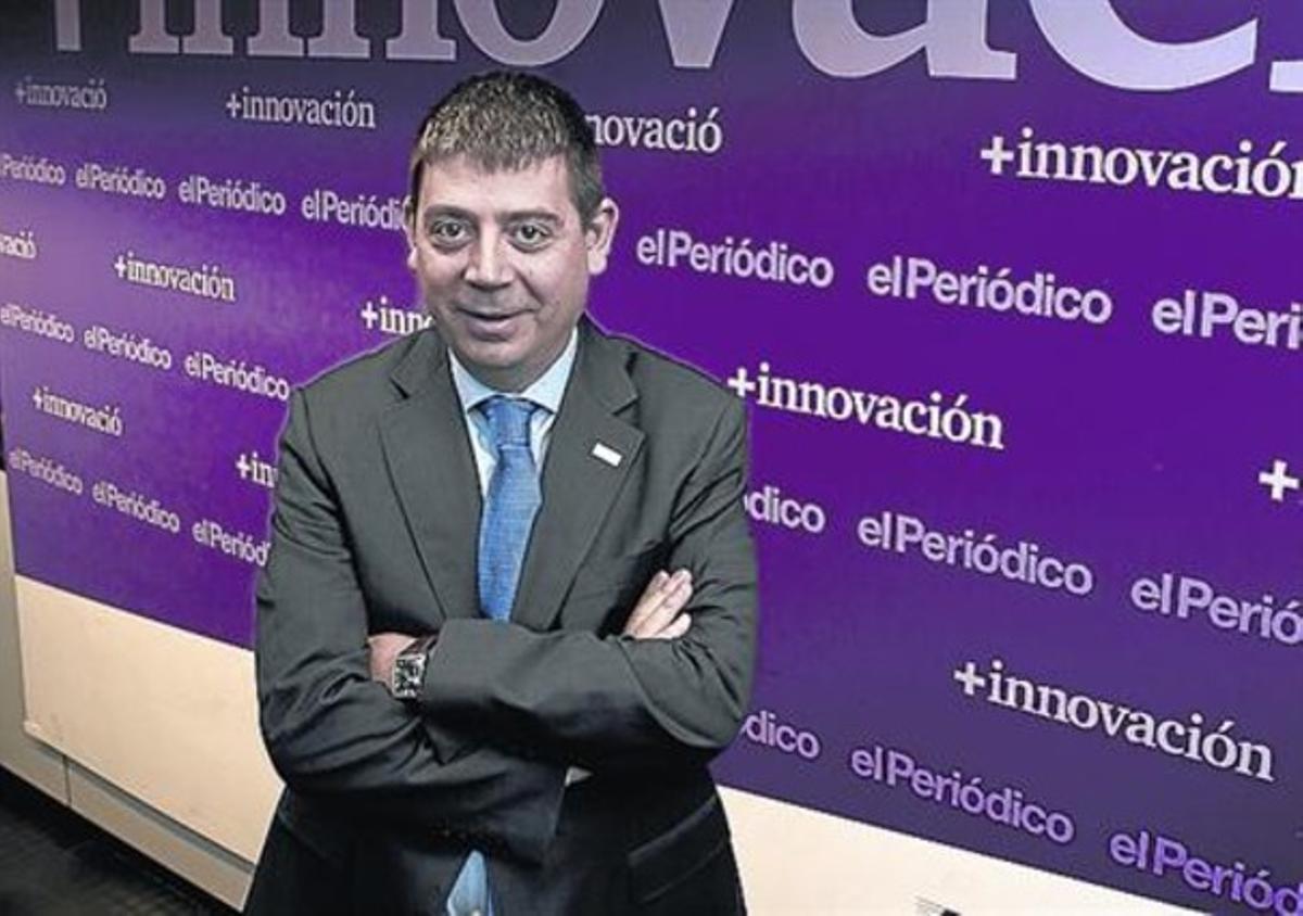 Apuesta 8 Planes durante una entrevista en EL PERIÓDICO en el 2012