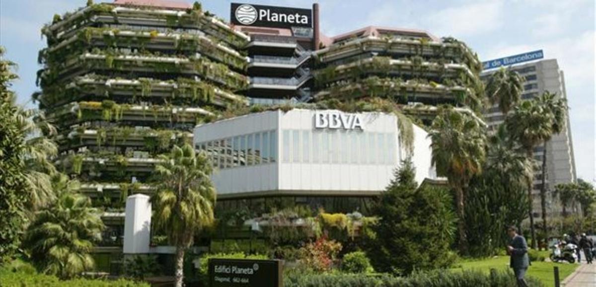La sede del Grupo Planeta, en la Diagonal de Barcelona.