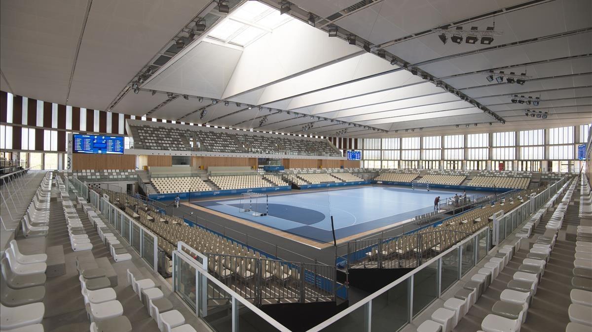 Palau d'Esports Catalunya, que se estrena en los Juegos Mediterráneos de Tarragona.