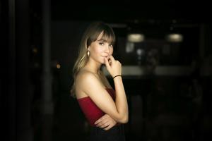 La cantante Aitana.