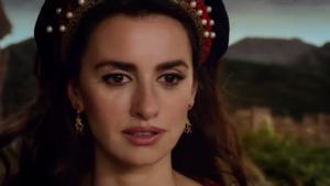 Penélope Cruz en un fotograma de 'La Reina de España'.