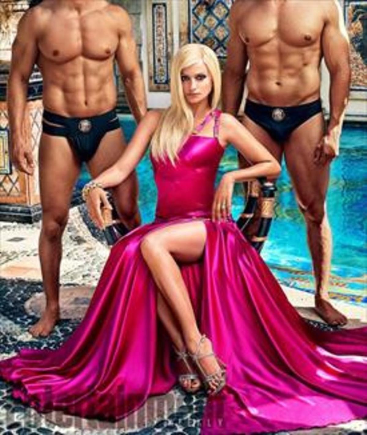 Penélope Cruz, en el papel de Donatella Versace, en la serie 'American crime story'.