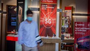Sanció de 8 milions a Vodafone per les seves trucades i missatges comercials