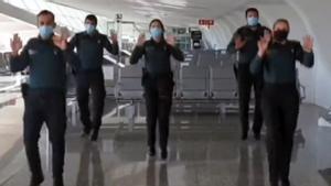 Vídeo de Tik Tok publicado por la cuenta oficial de la Guardia Civil.