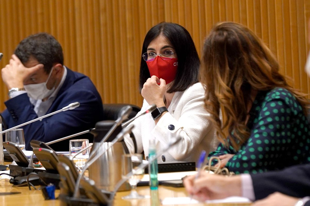 Comparecencia este mediodía en la comisión de Sanidad de la nueva ministra de Sanidad Carolina Darias.