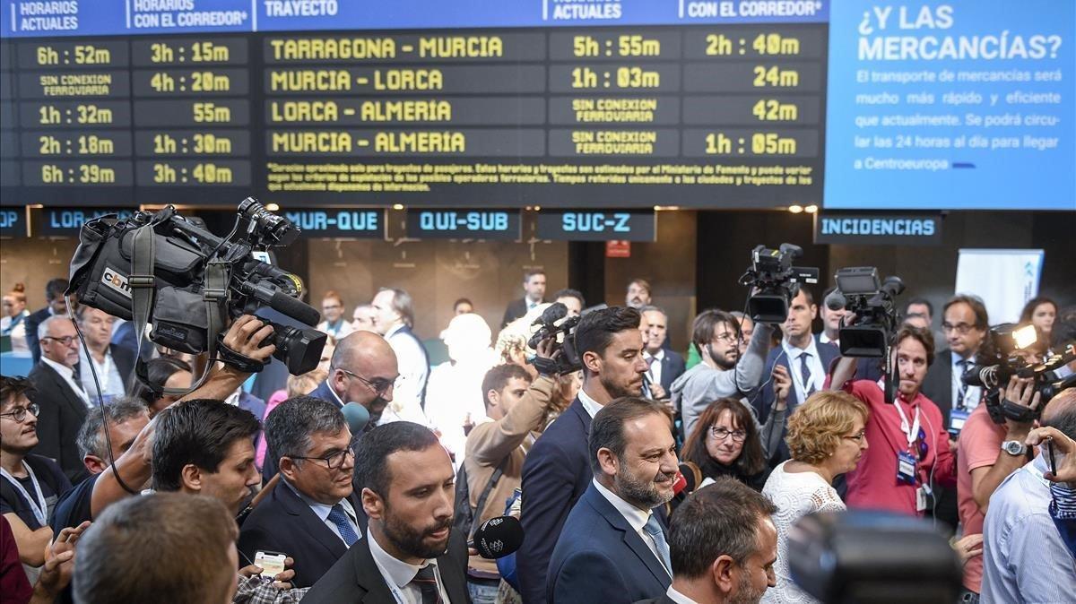 Foment preveu que el Corredor Mediterrani Algesires-França estigui a punt el 2021