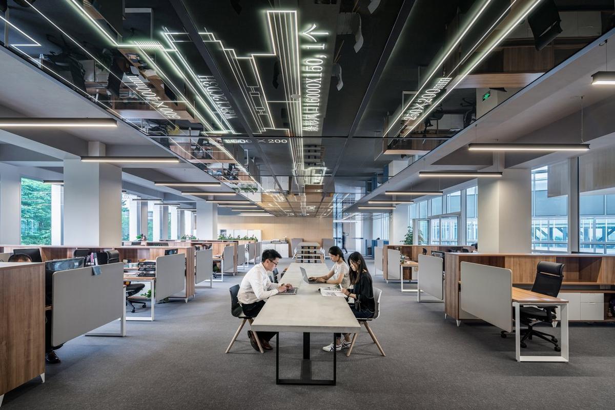 Así funcionan las 'oficinas inteligentes' del futuro