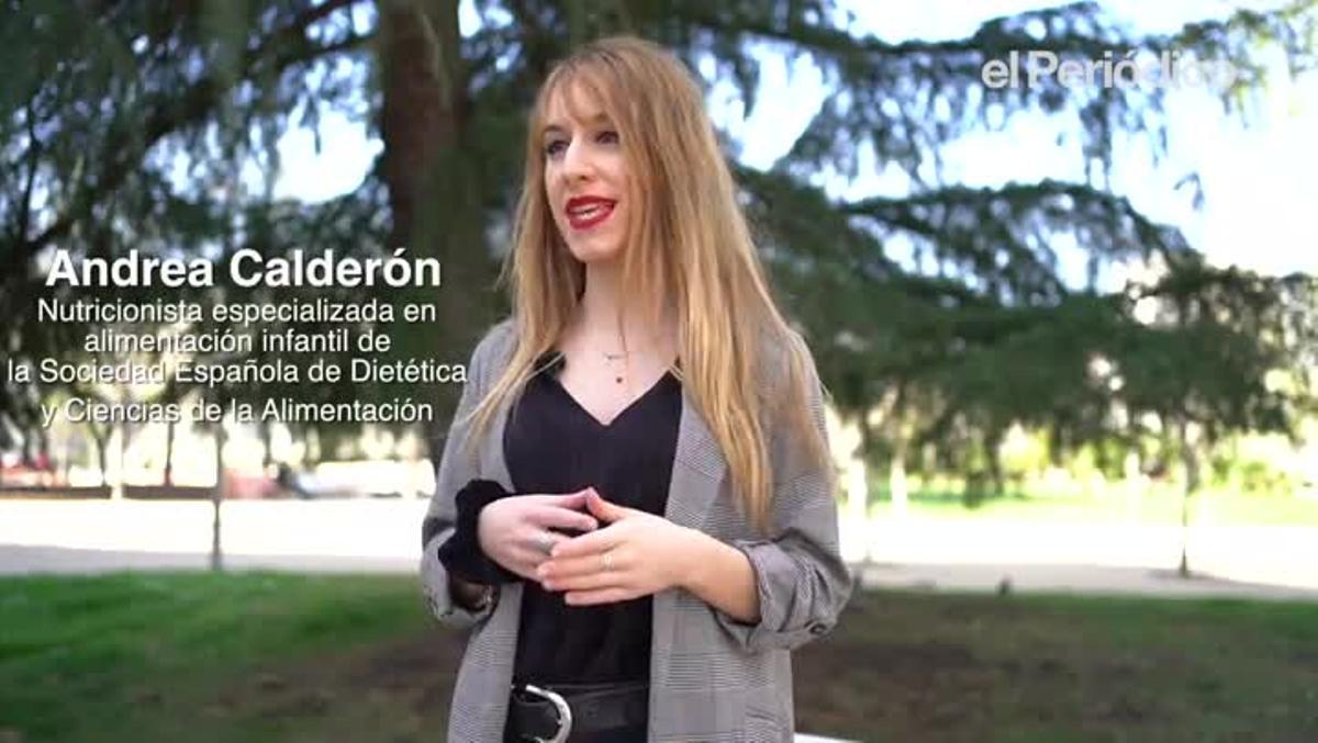 La nutricionista Andrea Calderón da las claves paraafrontar con una alimentación saludable en casa la cuarentena decretada en los colegios de Madrid,