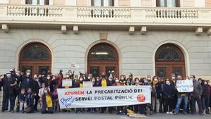 Inspecció de Treball investiga una possible vulneració de drets en una unitat de Correus a Sabadell